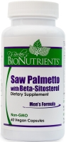 Saw Palmetto with Beta-Sitosterol, 60 Capsules