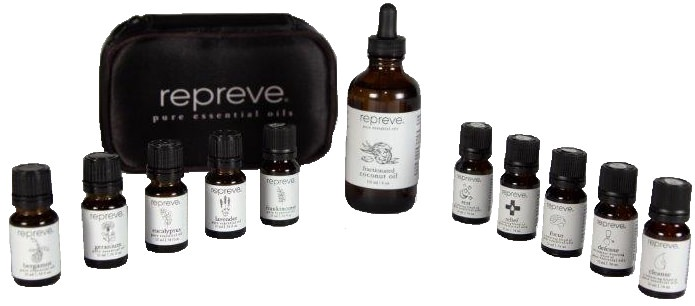 REPREVE Essential Oils Deluxe Set OUT OF STOCK