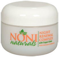 Noni Naturals Skincare:  Night Renewal Complex, 1oz